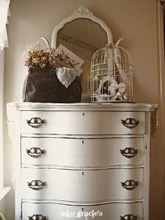 ♥ this dresser. And everything on it, of course.