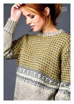 Fabulous Crochet a Little Black Crochet Dress Ideas. Georgeous Crochet a Little Black Crochet Dress Ideas. Fair Isle Knitting Patterns, Sweater Knitting Patterns, Knitting Designs, Knit Patterns, Hand Knitting, Fair Isle Pattern, Knitting Tutorials, Knitting Charts, Vintage Knitting
