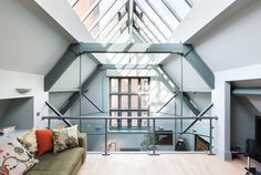 loft under glass dome
