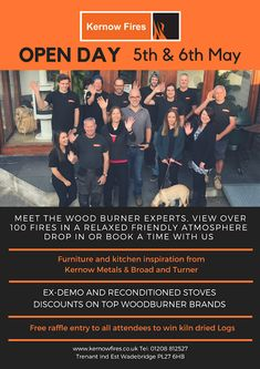 Join us on our open days!    #open #day #fire #fires #stove #sale #wood #logs #fireplace #help #advice Biomass Boiler, Wood Burner, Stove, Fire, Day, Wood Burning Cook Stove, Stove Fireplace, Range, Wood Oven