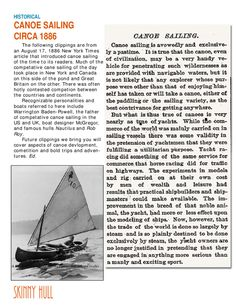 Issuu is a digital publishing platform that makes it simple to publish magazines, catalogs, newspapers, books, and more online. Easily share your publications and get them in front of Issuu's millions of monthly readers. Title: SKINNY HULL Vol 1 No. 1, Author: Edward Maurer, Name: volume1-number1, Length: undefined pages, Page: 16, Published: 2012-01-01