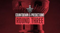 NHL PLAYOFFS 2017 (ROUND 3) COUNTDOWN AND PREDICTIONS