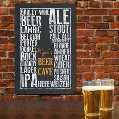 gorgeous personalised beer art