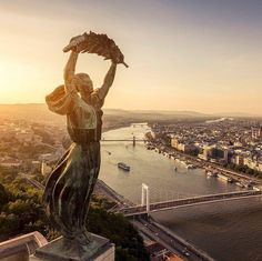 Photo: m - Over the city - Budapest Ingatlanfotózás ? Beautiful Places In The World, Places Around The World, Wonderful Places, Around The Worlds, Places To Travel, Places To See, Europe Centrale, Capital Of Hungary, Live Picture