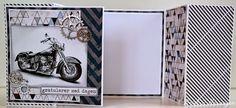 """Kult brettekort med ark fra """"Forventninger"""". Kristine89 har lagd dette flotte kortet."""