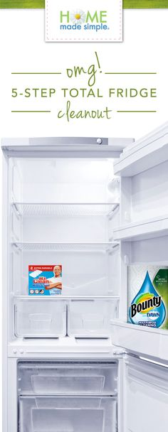 Get your fridge sparkling inside and out with our 5-step total fridge cleanout.    https://www.pgeveryday.com/home/cleaning/article/5-step-refrigerator-cleanout