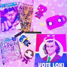 ComicBookStore Haul 💕 (yesterday)  #voteloki #buckybarnes #captain #america #bucky #captainamerica #spiderman #funko #funkopop #rebirth #twd #superman #thewalkingdead #comicbooks #nerd #geek #journal #hailhydra #kawaii #dc #marvel #popvinyl #avengers #justiceleague #vote #image #darkhorse