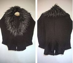 Excited to share the latest addition to my #etsy shop: Vintage 80s Women Silvian Heach Cardigan With Fur Collar **** Size S**** http://etsy.me/2B19Z2h #clothing #women #jacket #brown #birthday #mothersday #silvianheach #cardigan #furcollar