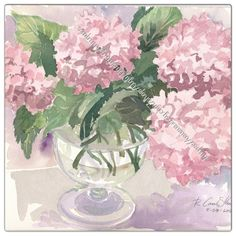 An 8 X 10 print of 2012 Pink Hydrangea by by UglyDucklingAntiques, $20.00