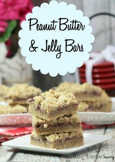 Looking for an easy back to school treat? Be sure to check out this Peanut Butter & Jelly Bars Recipe. These bars are simple to make from scratch with just a few ingredients including, of course, everyone's favorite peanut butter and jelly.