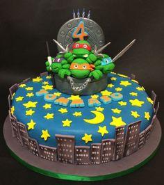 Ninja Turtles Birthday Cake - Cake by Davide Minetti - CakesDecor