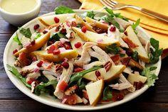 Fall Harvest Turkey and Pear Salad with Pear Vinaigrette