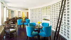 Ritz-Carlton Club, San Fran: The Members Lounge is a 12th-floor space where guests can decompress from the city.