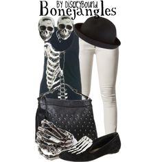 Bonejangles - Corpse Bride (Casual Cosplay by Disneybound) Fandom Fashion, Geek Fashion, Fashion Outfits, Fashion Ideas, Casual Cosplay, Cosplay Outfits, Disney Inspired Fashion, Disney Fashion, Disney Bound Outfits