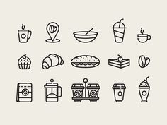 Coffee Cafe Icons