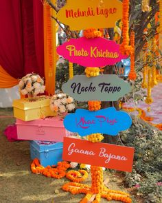 Latets Mehendi Decoration Trends for weddings . Decoration Ideas Unique Mehendi Backdrop Decor Ideas to Steal for your Wedding<br> Desi Wedding Decor, Wedding Hall Decorations, Marriage Decoration, Wedding Props, Backdrop Decorations, Wedding Mandap, Wedding Backdrops, Quirky Wedding, Wedding Receptions