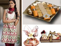 Think bright, loud, fun, ethnic... think festive! From chic bags to pamper hampers and chocolates to watches, heres an array of gifting options that will make sure you give your friends and family the best this festive season.