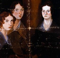 Portrait of the Brontë sisters – painted by their brother, Branwell