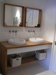Belair Farmhouse- i like the mirrors