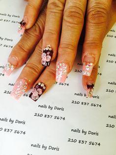 Acrylic nails by Doris
