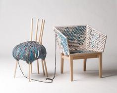 Susanne Westphal, The discovery of slowness. //design d'objet //détournement de crochet //modulable //unique //nos envies //ludique //nouvelle occupation