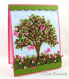 KC IMpression Obsession Tree Die 6 left butterflies