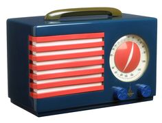 Norman Bel Geddes -  Emerson Patriot Radio, catalin and bakelite (c1940)