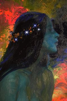 And The World Smiled Upon You — fleurdulys: Unknown - Victor Nizovtsev Victor Nizovtsev, Arte Obscura, Arte Sketchbook, Wow Art, Alphonse Mucha, Pics Art, Psychedelic Art, Art Plastique, Pretty Art