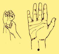 ..PUNTO 29: Se le encuentra en la parte interior del antebrazo, a tres dedos de la unión de la muñeca con la mano, en línea recta con el dedo medio. Se le presiona firmemente durante 90 segundos. Para : Dolor de Cabeza, Abdomen, Pecho, Manos, Muñecas, Brazos, Codos u Hombros, Cólicos Menstruales, Diarrea, Hipo, Insomnio, Mareos, Obesidad, Tos, Vértigo, Vómitos..