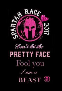 Spartan race running strong women challenge run girls pink quoted Motivation Spartan Life, Spartan Sprint, Spartan Race Training, Spartan Workout, Spartan Women, Spartan Ultra Beast, Spartan Trifecta, Spartan Challenge, Spartan Quotes