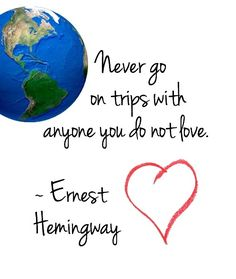 Travel Quote from Ernest Hemingway