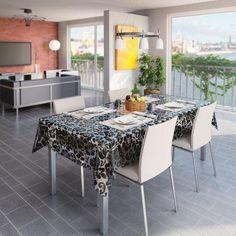 Vannak olyan asztalterítők, melyek az üzletben első ránézésre azt sugallják, hogy éppen az az, amire szükséged van. Monte Carlo, C Table, Dining Chairs, Dining Table, Outdoor Tables, Outdoor Decor, Pvc, Outdoor Furniture Sets, Kitchen