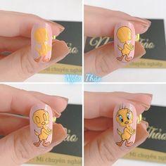 Nail Time, Nail Arts, Swag Nails, Nail Designs, Cartoon, Video, Anime, Manicures, Cami
