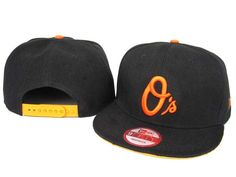 New Era MLB Baltimore Orioles Snapback Hats Caps 3228! Only $8.90USD