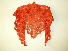 Ravelry: roadrunnerknitter's Orangey Ebbtide