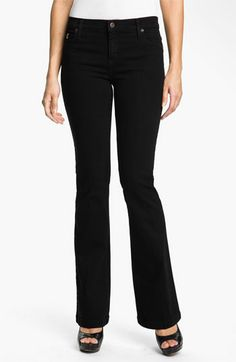 Second Yoga Jeans Bootcut Jeans available at #Nordstrom - These look awesome! I'm just too cheap to ever actually buy them.