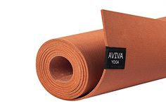 1cc5f2c71eca Yomad Pro 3mm Natural NonAmazon Harvested Rubber Travel Yoga Mat by AVIVA  YOGA EcoFriendly Grippy Reversible and Durable Material Measuring 72 Long x  26 ...