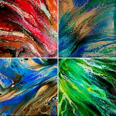FACT. Staring at the color green for five minutes a day reduces stress, blue increases your chance of winning the lottery, and red obviously sheds weight! SCIENCE. Don't you think it's time to add some to your walls? Buy an abstract today at TimWebb.com or commission me to do an original. ❤️😊