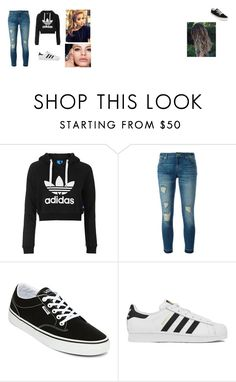"""NOT MY OUTFIT/CASUAL"" by crystal-ravell on Polyvore featuring Topshop, MICHAEL Michael Kors, Vans and adidas"