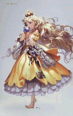 Imagen de chica anime