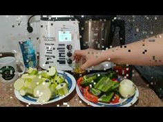 Pisto en Monsieur Cuisine Plus - YouTube Lidl, Tortilla, Youtube, Silver, Scrappy Quilts, Food Cakes, Food Processor, Healthy Food, Thermomix