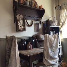 Primitive family room