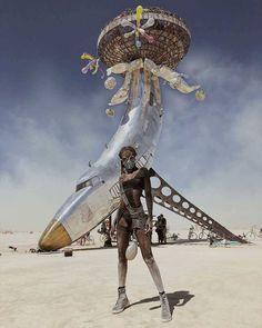 Фестиваль Burning Man 2018: лучшее в снимках Instagram | AD Magazine