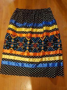 Traditional Skirts, Traditional Outfits, Shirt Skirt, Dress Skirt, Native American Dress, Powwow Regalia, Ribbon Skirts, Dress Making Patterns, White Girls