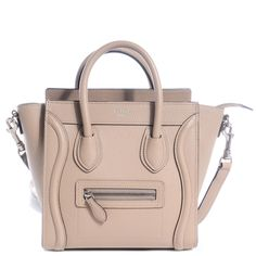 celine original bag price - C��line Nano Luggage Tote Burgundy Tricolor Cross Body Bag | Cross ...
