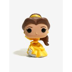 Funko Pop! Disney Beauty And The Beast Belle Yellow Dress Vinyl Figure ($11) ❤ liked on Polyvore featuring home, home decor, accessories, funko pop vinyl, toys, disney figure, vinyl figure, vinyl figurines, yellow home accessories and disney home decor