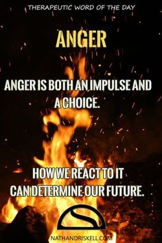 Anger is a part of life. Anger can destroy you, or liberate you. Choose wisely.  #anger #life http://nathandriskell.com