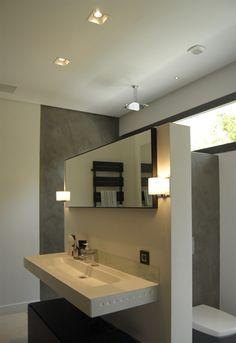 illusion: iluminación en baño