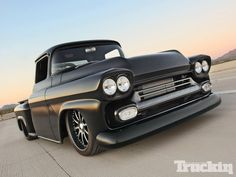 Brian Fuentes dropped his 1958 Chevy Pickup at Fesler Built in Scottsdale, Arizona with only three request.  See how they made this classic Chevy Pickup fast, loud, and built with the highest level of craftsmanship, in issue 13 of Truckin Magazine.