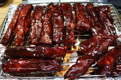 I love Chinese Barbecued Pork Spare Ribs. I thought that for today I would share a simple, easy recipe for Char Siu ribs with you! Char Siu is Cantonese and means Barbecued Marinated Pork. Chinese Pork Spare Ribs Recipe, Chinese Boneless Spare Ribs, Chinese Ribs, Chinese Bbq Pork, Chinese Food, Chinese Recipes, Chinese Spare Ribs, Asian Recipes, Oven Pork Ribs